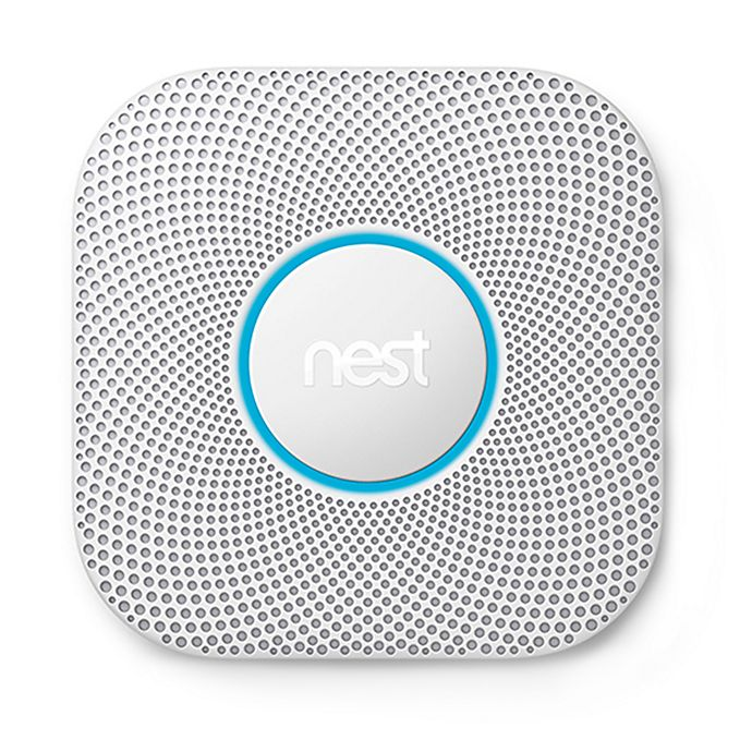 Alternate image 1 for Google Nest Protect Second Generation Battery Smoke and Carbon Monoxide Alarm