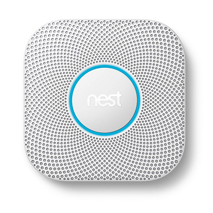 Alternate image 1 for Google Nest Protect Second Generation Wired Smoke and Carbon Monoxide Alarm