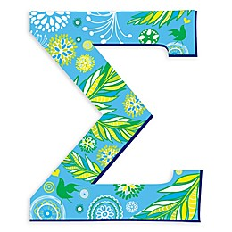 GreenBox Art Greek Letter Sigma Wall Decal