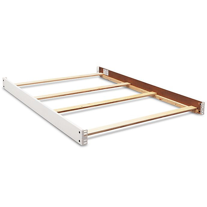 Alternate image 1 for Simmons Kids® Barrington Full Bed Rails in Bianca