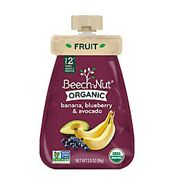 Beech-Nut® Organic Stage 2 Banana, Blueberry, and Avocado Cold Purée