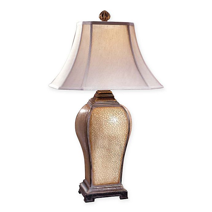 Uttermost Baron Table Lamp In Ivory