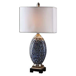 Uttermost Latah Table Lamp in Blue with Shade
