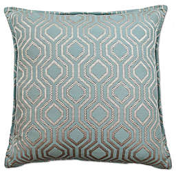 Sherry Kline Santana Geo Square Throw Pillow