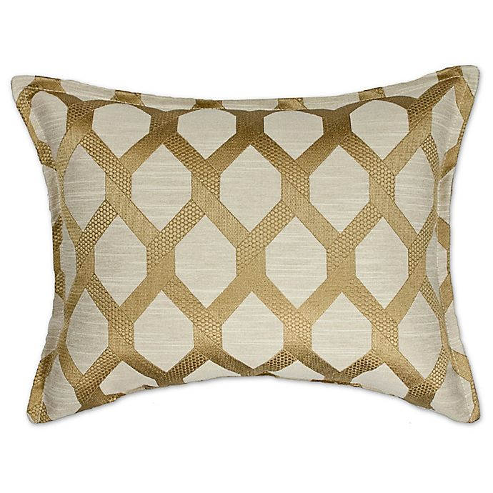 Alternate image 1 for Sherry Kline™ Sonora 14-Inch Pillow in Gold