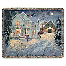 Country Night Throw Blanket