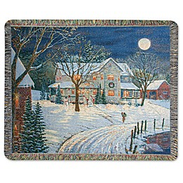 Holiday Night Throw Blanket