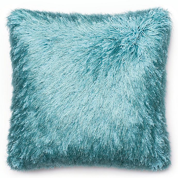 Alternate image 1 for Loloi Shag Square Throw Pillow