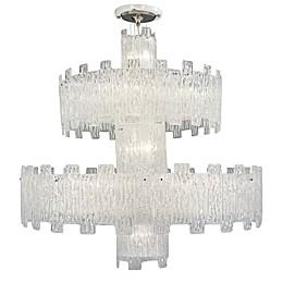 Metropolitan® 2-Tier 25-Light Grand Chandelier in Crystal