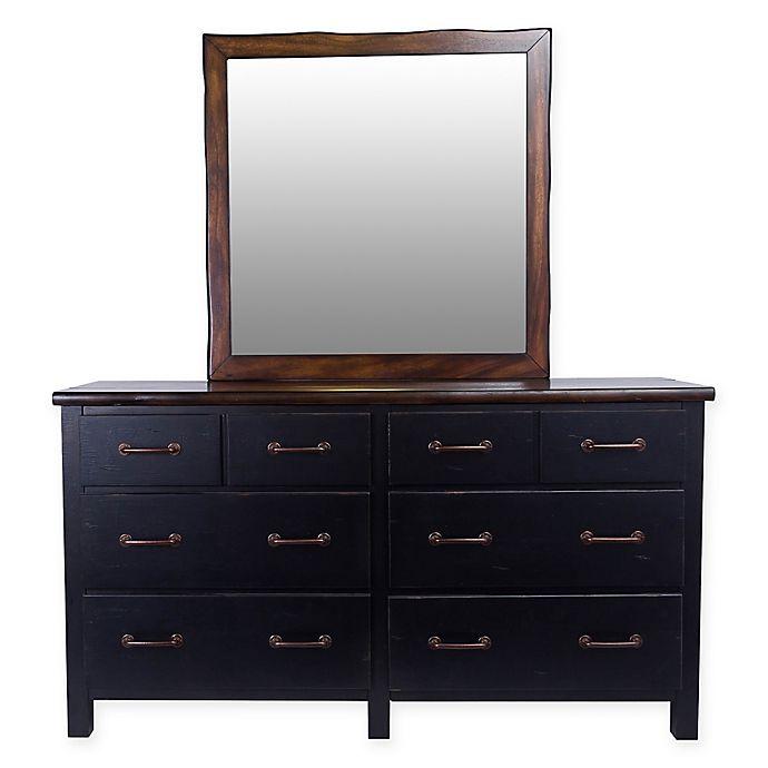 Alternate image 1 for Panama Jack® Big Sur 6-Drawer Dresser and Mirror in Brown