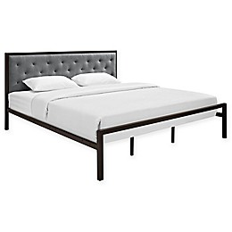 Modway Mia Fabric Bed Frame
