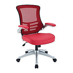Modway Attainment Office Chair in Red
