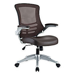 Modway Attainment Office Chair in Brown