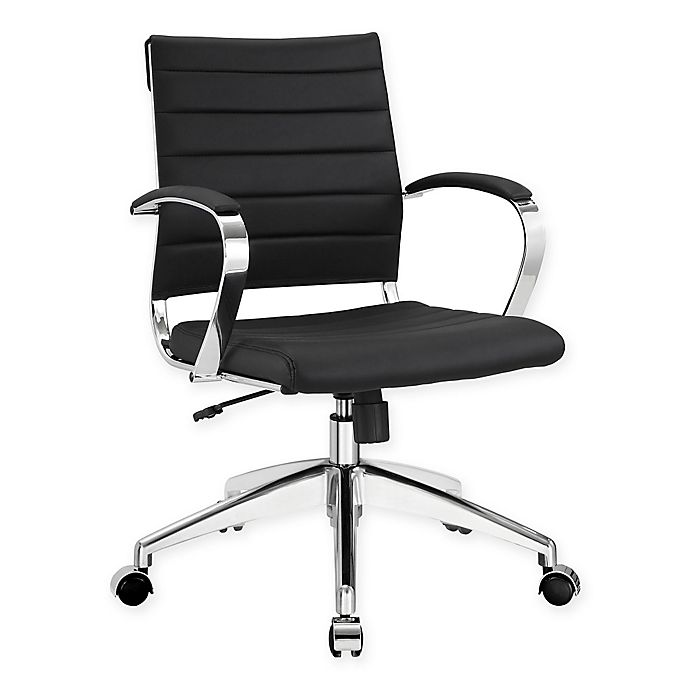 Alternate image 1 for Modway Jive Mid-Back Office Chair in Black