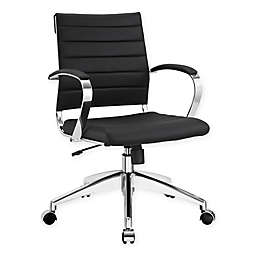 Modway Jive Mid-Back Office Chair in Black