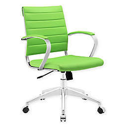 Modway Jive Mid-Back Office Chair in Green