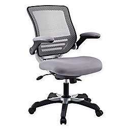 Modway Edge Mesh Office Chair in Grey