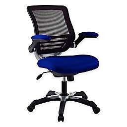 Modway Edge Mesh Office Chair in Blue