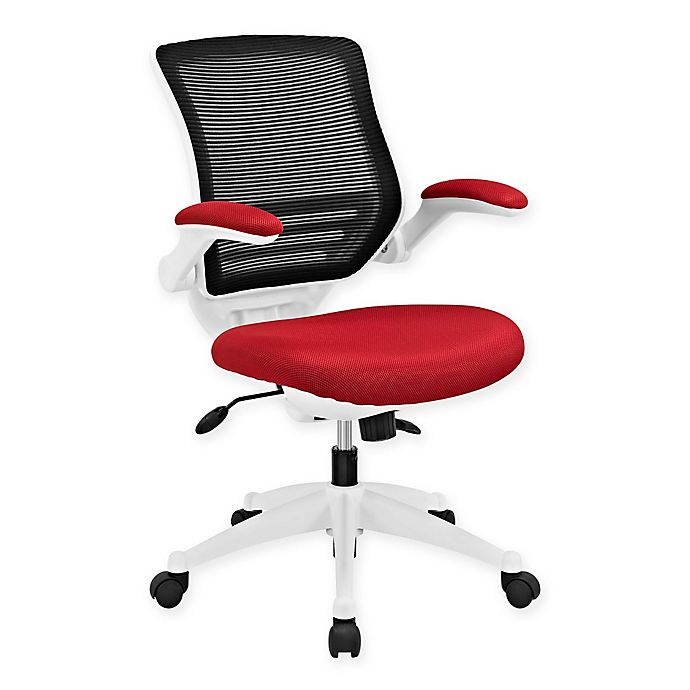 Alternate image 1 for Modway Edge White Base Office Chair