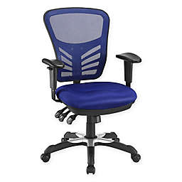Modway Articulate Mesh Office Chair in Blue
