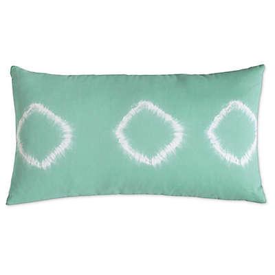 Amy Sia Artisan Oblong Throw Pillow in Green