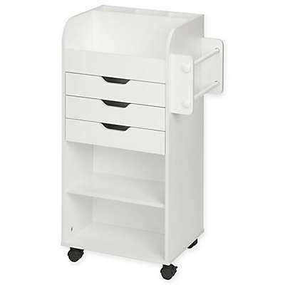 Honey-Can-Do® Craft Storage Cart in White