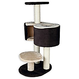 TRIXIE Pet Products Elvio Extra-Large Cat Tree in Brown/Beige