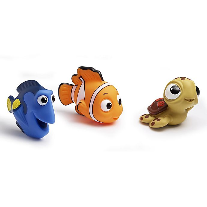 Alternate image 1 for Disney® Finding Nemo 3-Pack Bath Squirt Toys