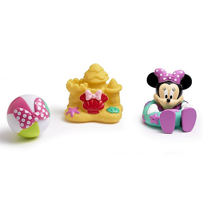 Alternate image 1 for Disney® Minnie Mouse 3-Pack Bath Squirt Toys