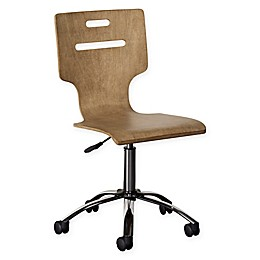 Stone & Leigh™ Chelsea Square Desk Chair in Light Brown