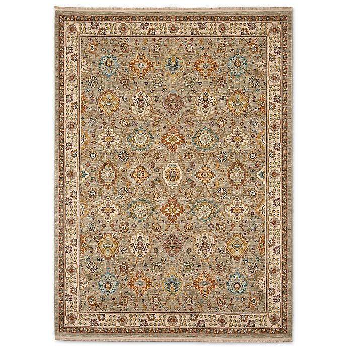 Alternate image 1 for Karastan Sovereign Emir 8-Foot 8-Inch x 10-Foot Area Rug in Grey