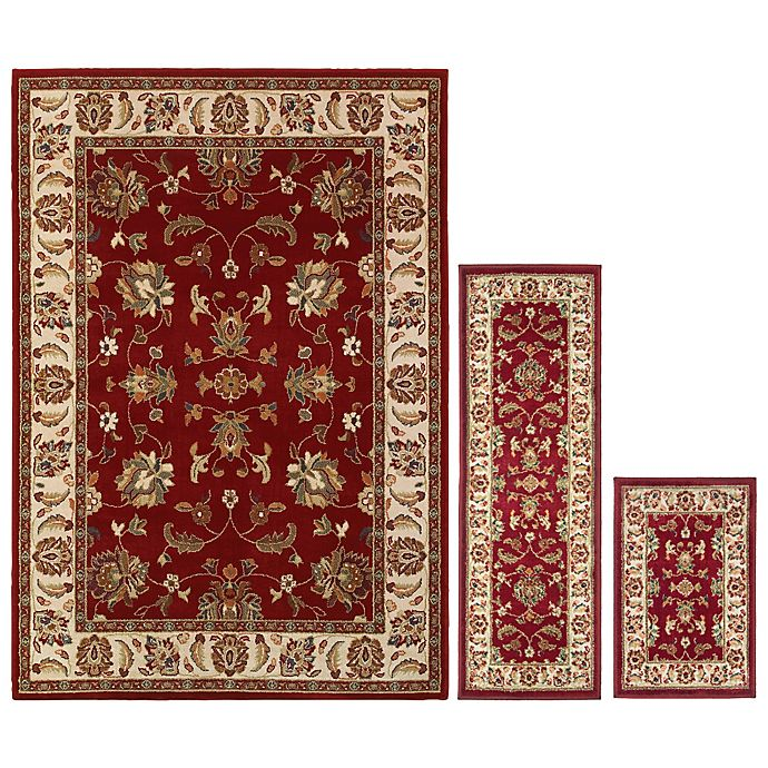 Oriental Weavers Windsor 3 Piece Area Rug Set Bed Bath Beyond