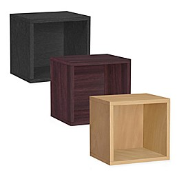 Way Basics Tool-Free Assembly Stackable Connect Open Storage Cube