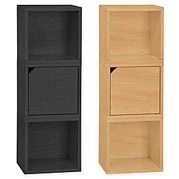 Way Basics Tool-Free Assembly Verona Modular Storage Blox Bookcase and Storage Shelf