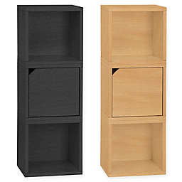 Way Basics Tool-Free Assembly Verona Modular Storage Blox Bookcase and Storage Shelf
