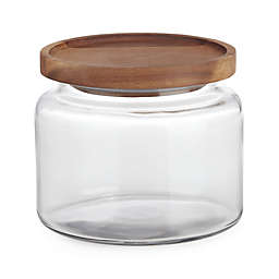 Anchor Hocking Montana Jar w/Acacia Lid