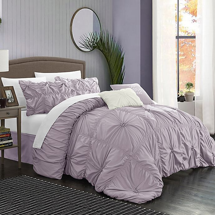 Chic Home Hilton 6 Piece Comforter Set Bed Bath Beyond