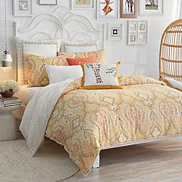 Lemon Tree Pateel Duvet Set in Yellow