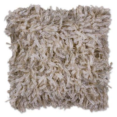 KASKAS Amara Knit Throw Pillow in Gold