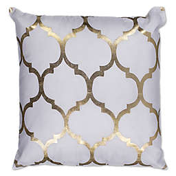 Kas Trellis 18-Inch Square Throw Pillow