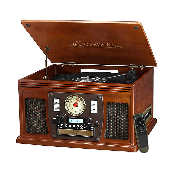 Alternate image 1 for Victrola™ Nostalgic Classic 8-In-1 Bluetooth® Turntable