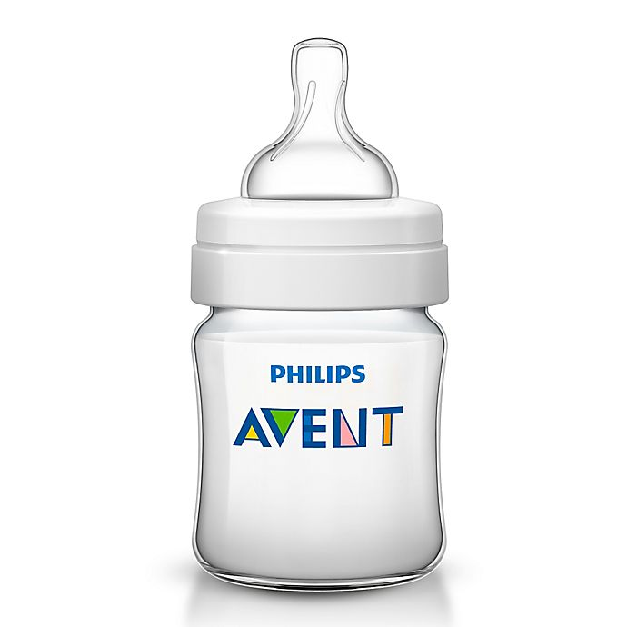 Alternate image 1 for Philips Avent 4 oz. Anti-Colic Bottle in Clear