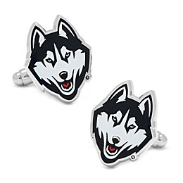 NCAA University of Connecticut Huskies Cufflinks