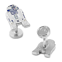 Star Wars™ Silver-Plated R2D2 Cufflinks