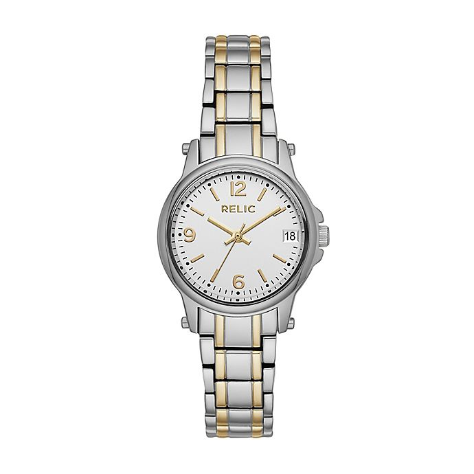 Alternate image 1 for Relic by Fossil Ladies' 30mm Matilda Watch in Two-Tone Stainless Steel