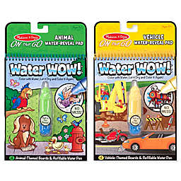 Melissa and Doug® Vehicles and Animals Water Wow Bundle