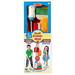Melissa & Doug® 6-Piece Let's Play House™ Dust Sweep Mop