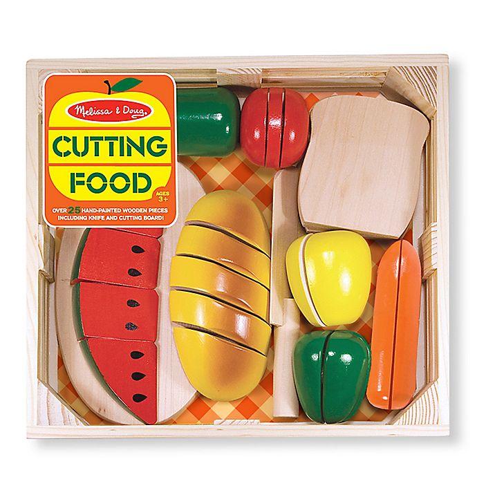 Alternate image 1 for Melissa & Doug® Cutting Food Set