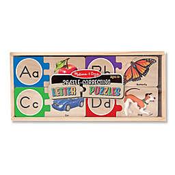Melissa & Doug® 26 Self-Correcting Letter Puzzles