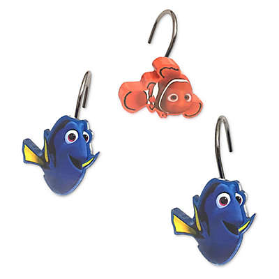 "Finding Dory ""Adoryble"" Shower Curtain Hooks"